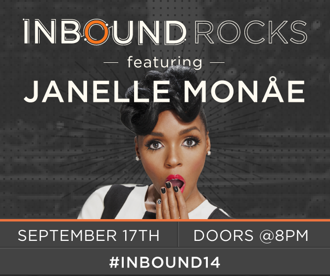 HubSpot's Annual INBOUND Conference Welcomes Grammy-Nominated  Janelle Monáe to Headline INBOUND Rocks