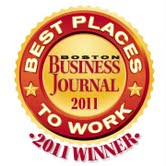 BBJ best places to work 2011 winner