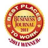 BBJ best places to work 2011 winner