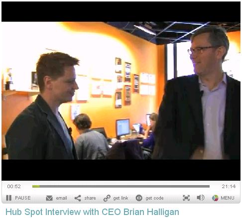 Brian Halligan Blue Wave Marketing Interview