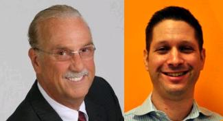 Charles Green and Mark Roberge