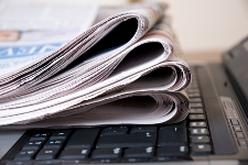 Newspapers on Computer