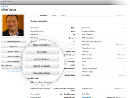 Hubspot 3 Contacts Database