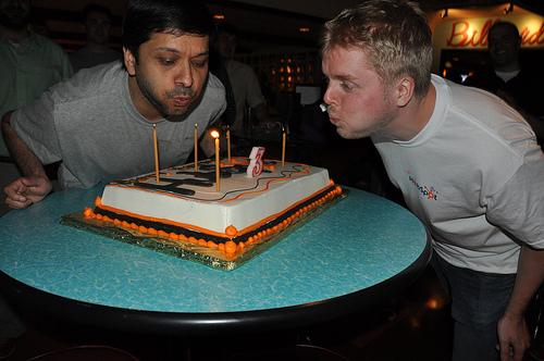 HubSpot Birthday Cake