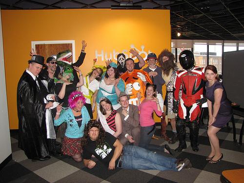 HubSpot Halloween Costumes