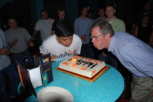 HubSpot Birthday Cake