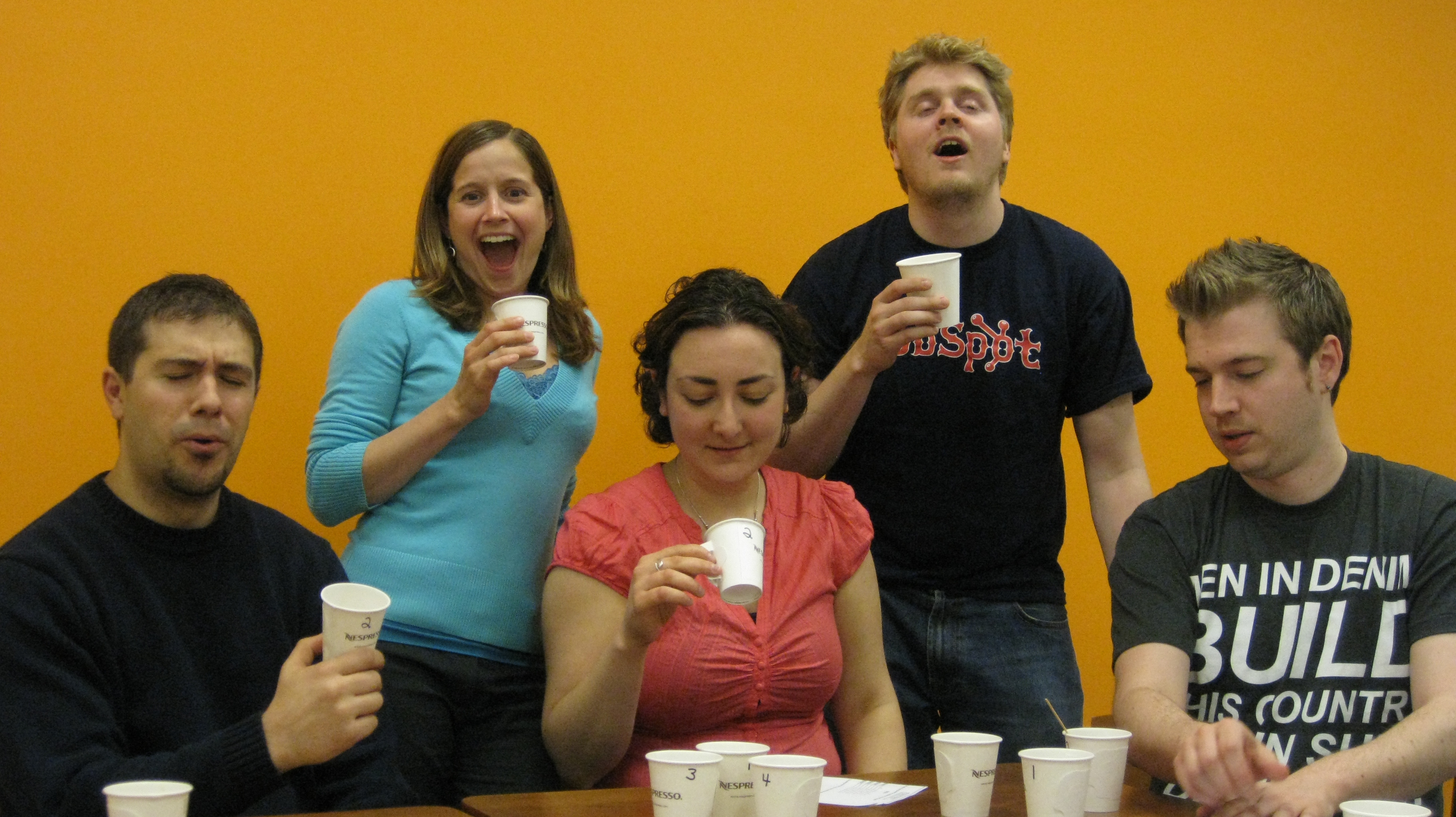 HubSpot CIC Coffee Tasting