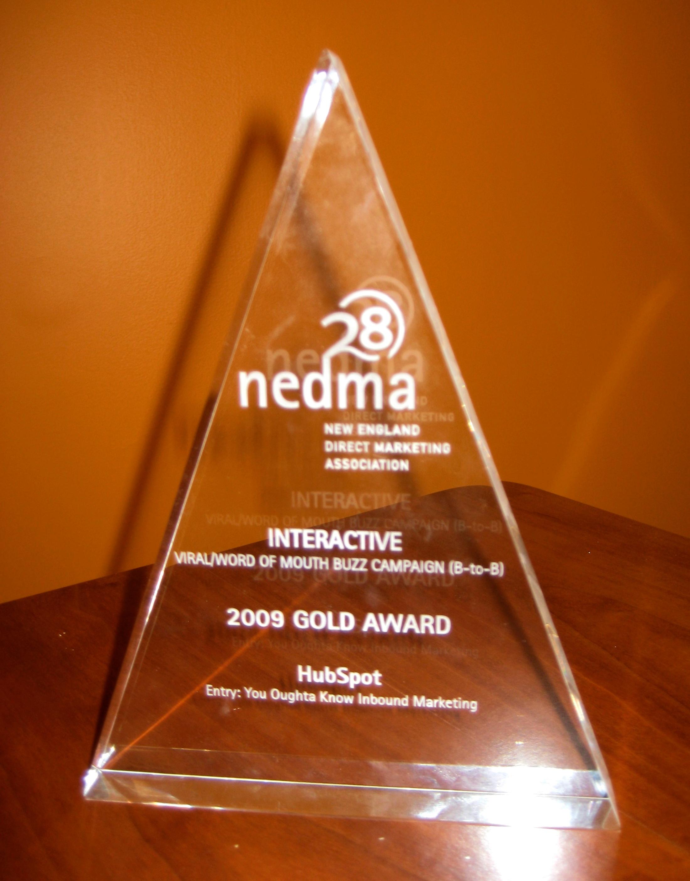 NEDMA Award