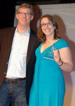 Rebecca Corliss & Brian Halligan NEDMA Awards