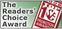 PromotionWorld Readers' Choice Award