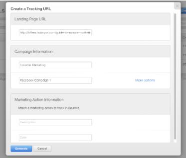 Tracking URL Builder