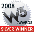 2008 W3 Awards Silver Winner