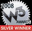 2008 W3 Awards Silver Winner