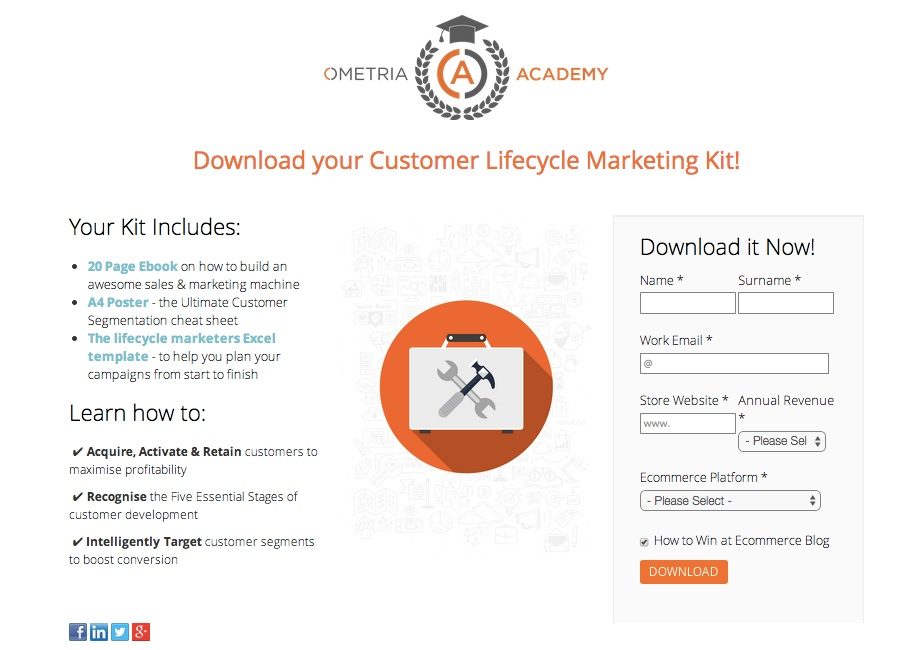 Ometria_Landing_Page