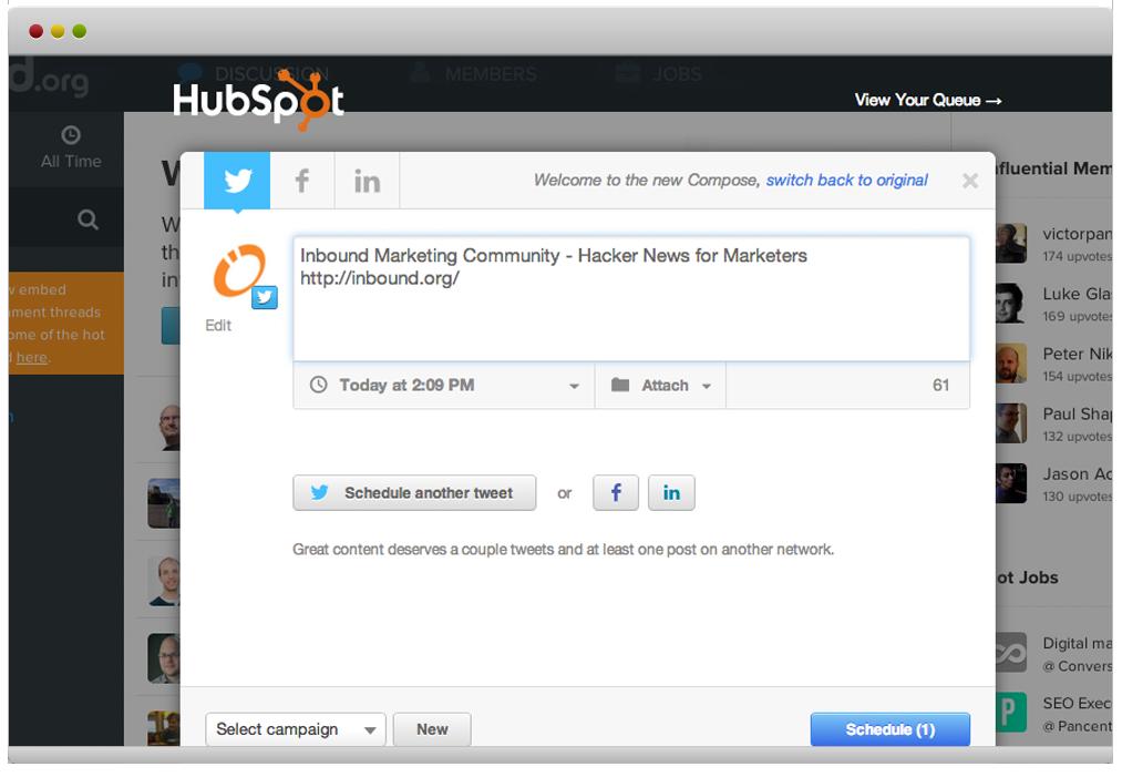 HubSpot Google Chrome Integration