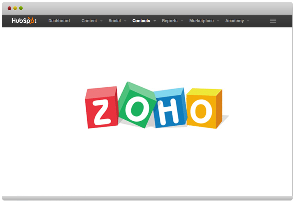 Zoho HubSpot Integration