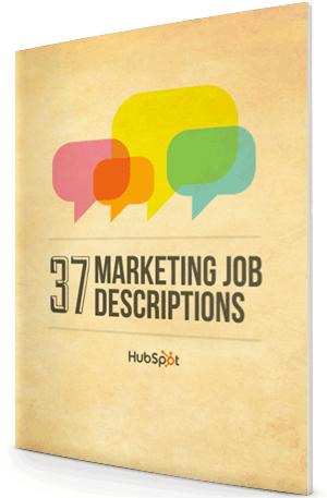 37 Ready-to-Use Marketing Job Descriptions