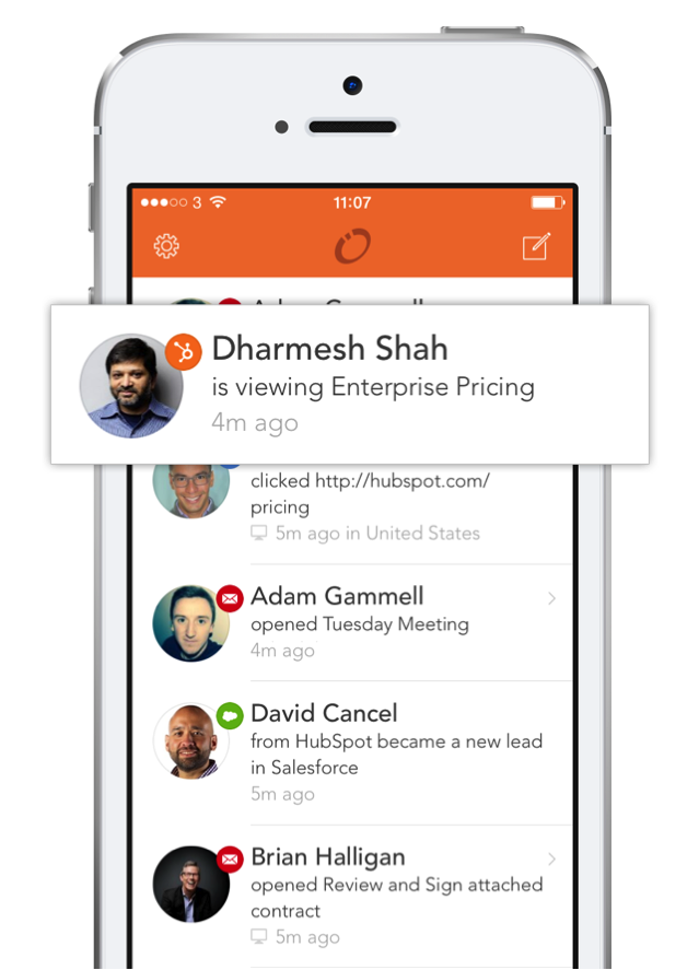 HubSpot Launches Signals Mobile Application for iOS