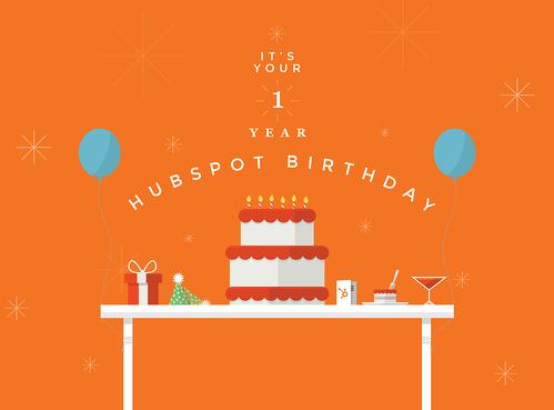 Happy HubSpot Birthday
