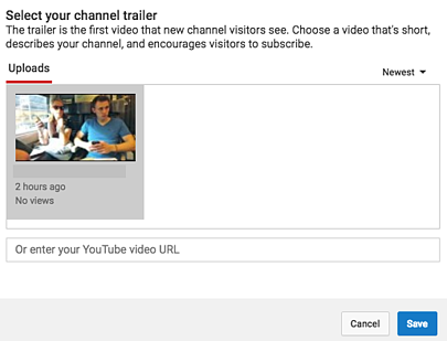 Youtube marketing the ultimate guide select youtube trailerg ccuart Images