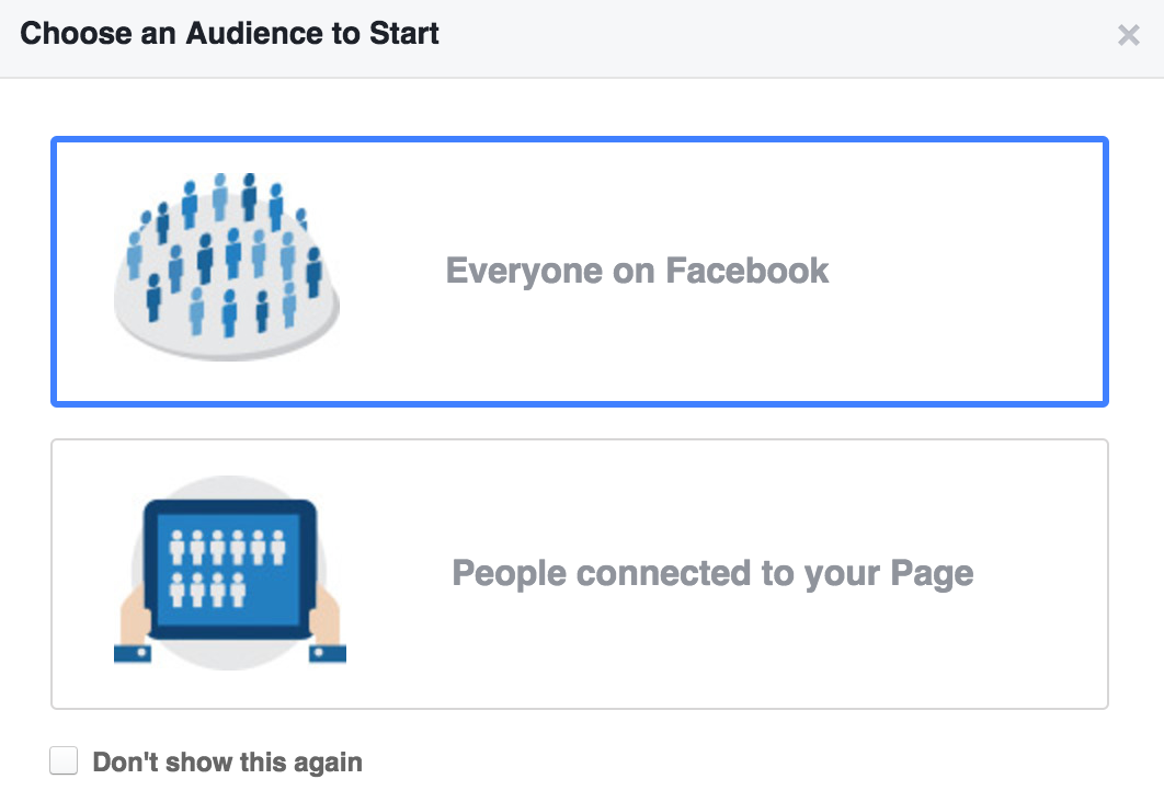 4 - audience insights choose and audinece.png