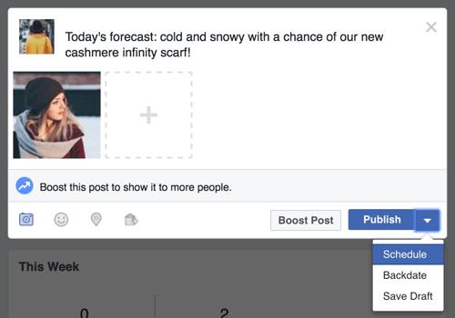 Celebrity facebook post boston