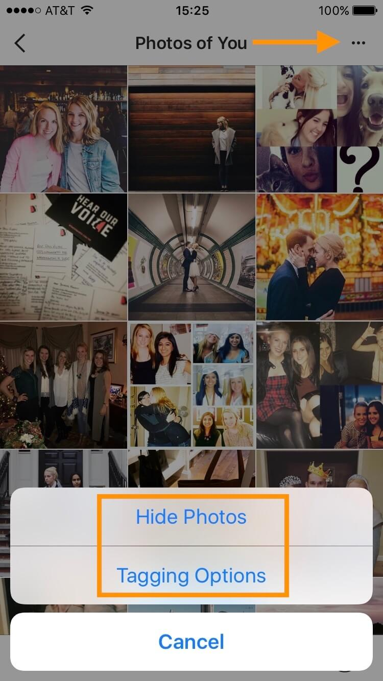 manage your ig photo tags