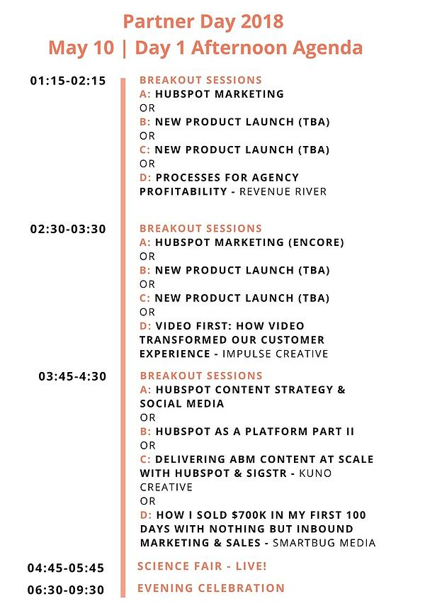 Day 1 - afternoon _ Partner Day 2018 Agenda (1)