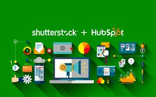 Shutterstock Integration: 60,000 Free Images Available to HubSpot