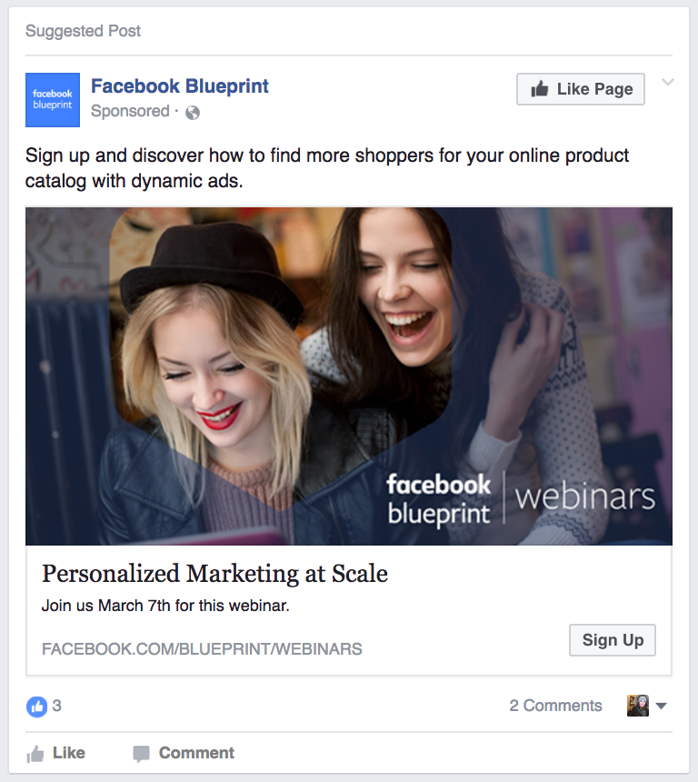 Lead Ad Example