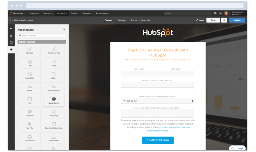 Build Landing Pages that Covert with HubSpot Marketing