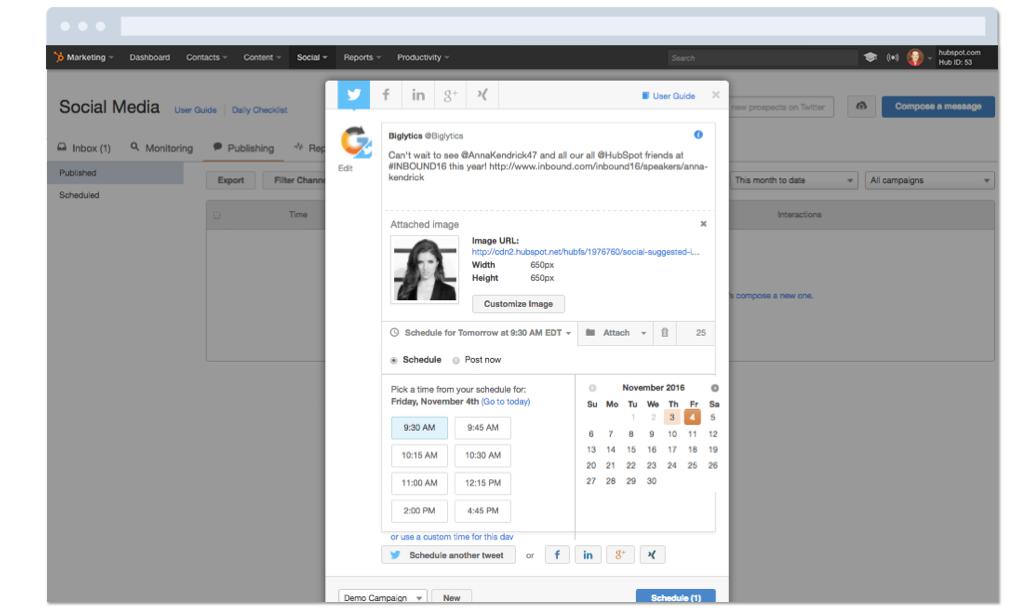 Run Your Social Media within HubSpot Marketing