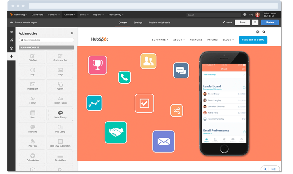 Build and Host Your Website with the HubSpot Website Platform
