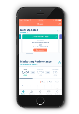 Introducing HubSpot's New Mobile App for iOS