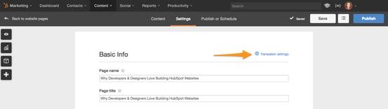 Multi-Language Content Management - HubSpot