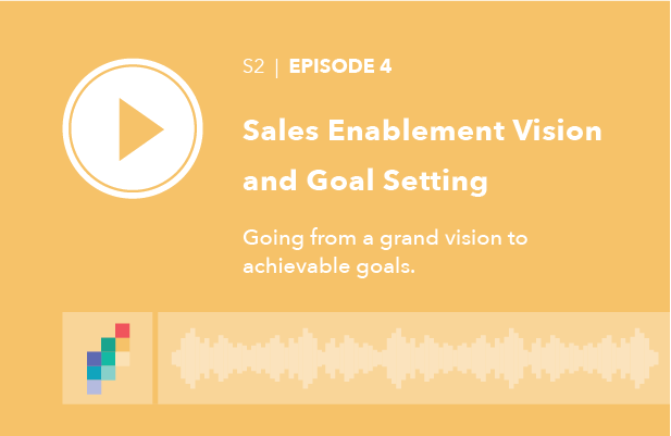 Sales Enablement Vision and Goal Setting