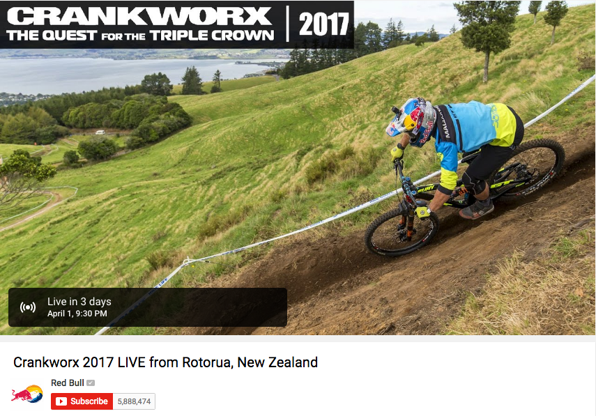 youtube live example