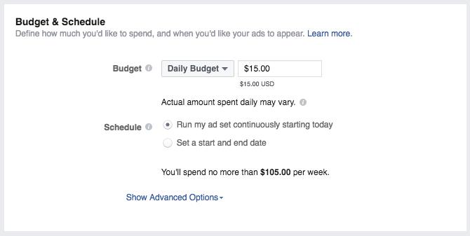 ig budget and schedule