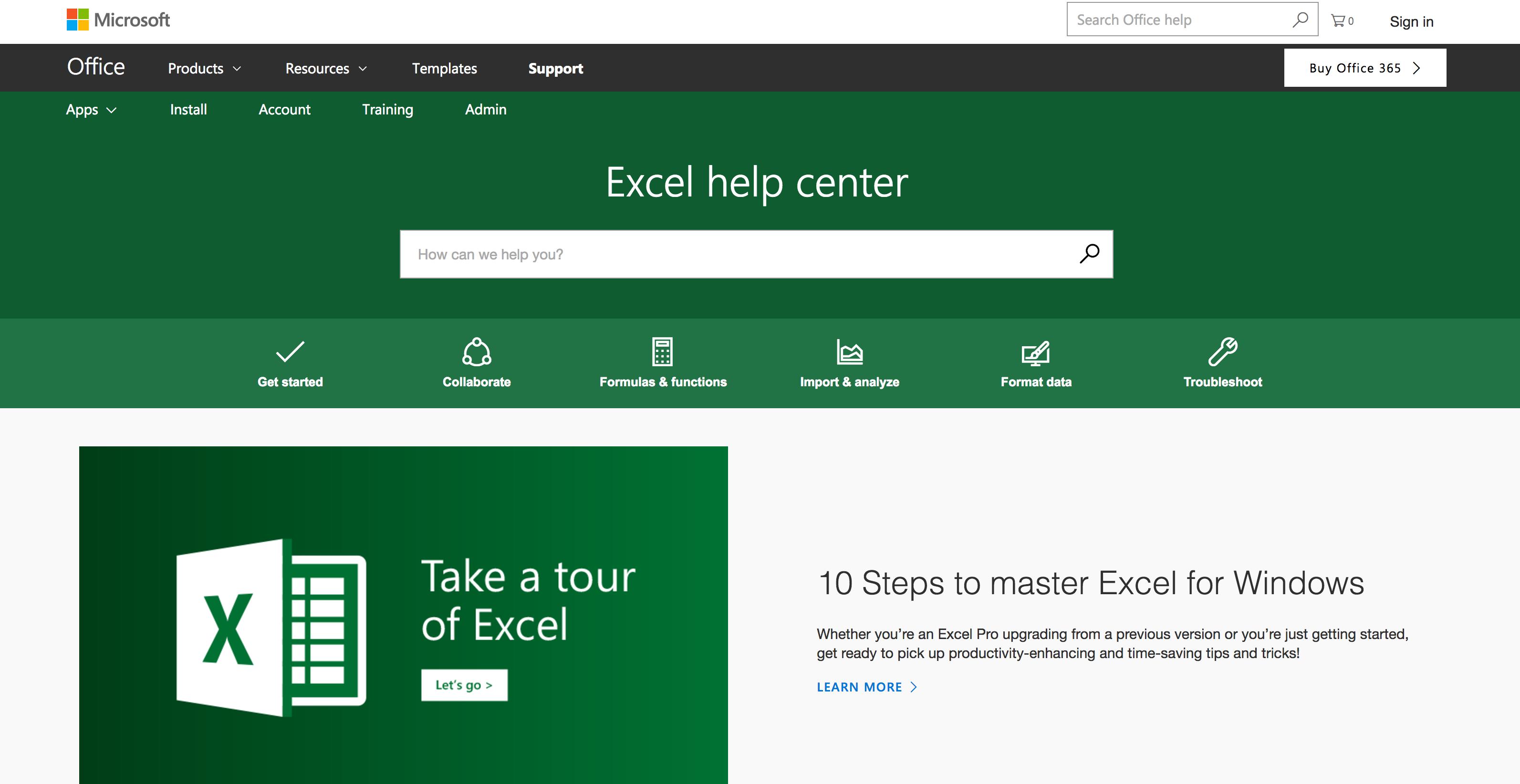 Microsoft knowledge base