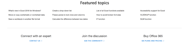 microsoft knowledge base example featured topics