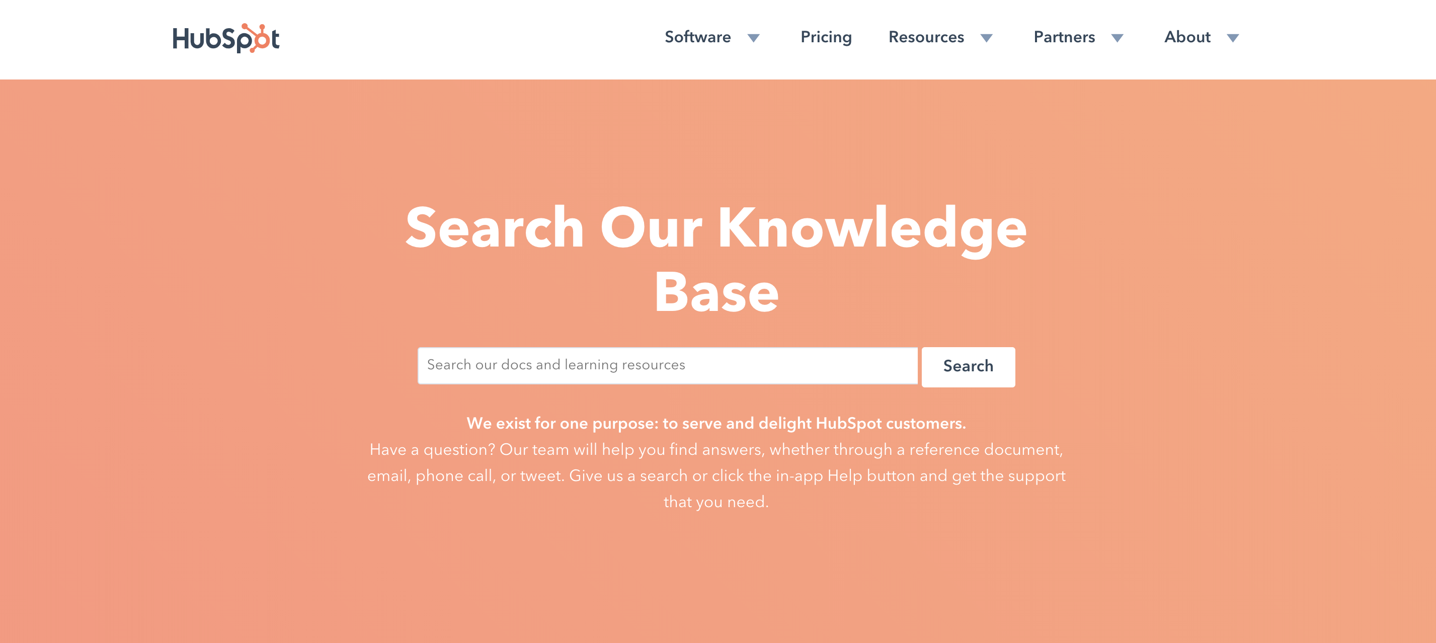 customer satisfaction hubspot knowledge base