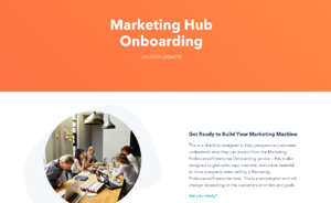 Marketing Hub Onboarding Checklist