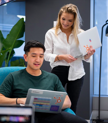 Sydney employees working in the office