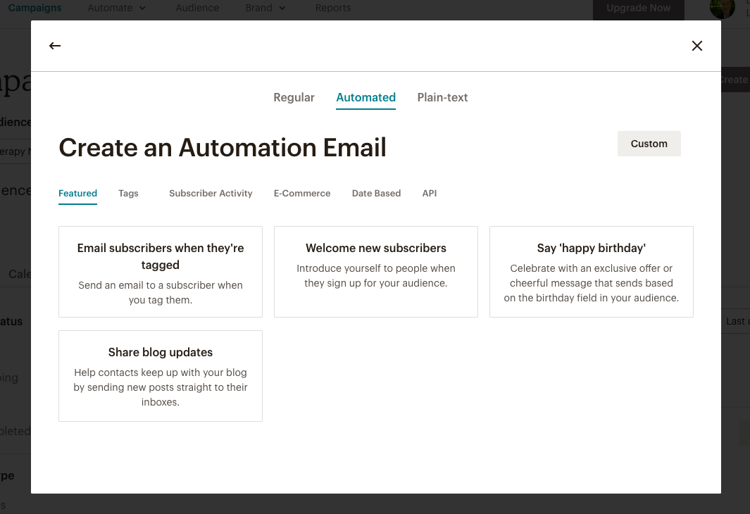 automation_mailchimo