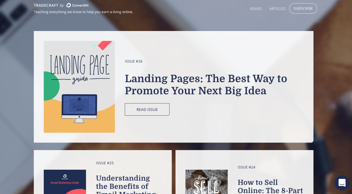 convertkit_landing_pages
