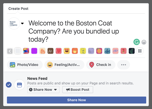 facebook-marketing-create-a-post