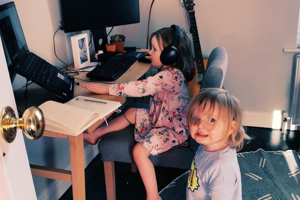 kids_working_from_home