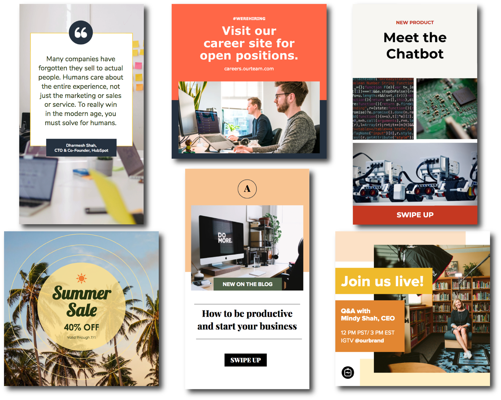 16 Instagram Templates for Business