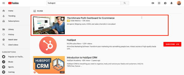 youtube marketing video discovery ads