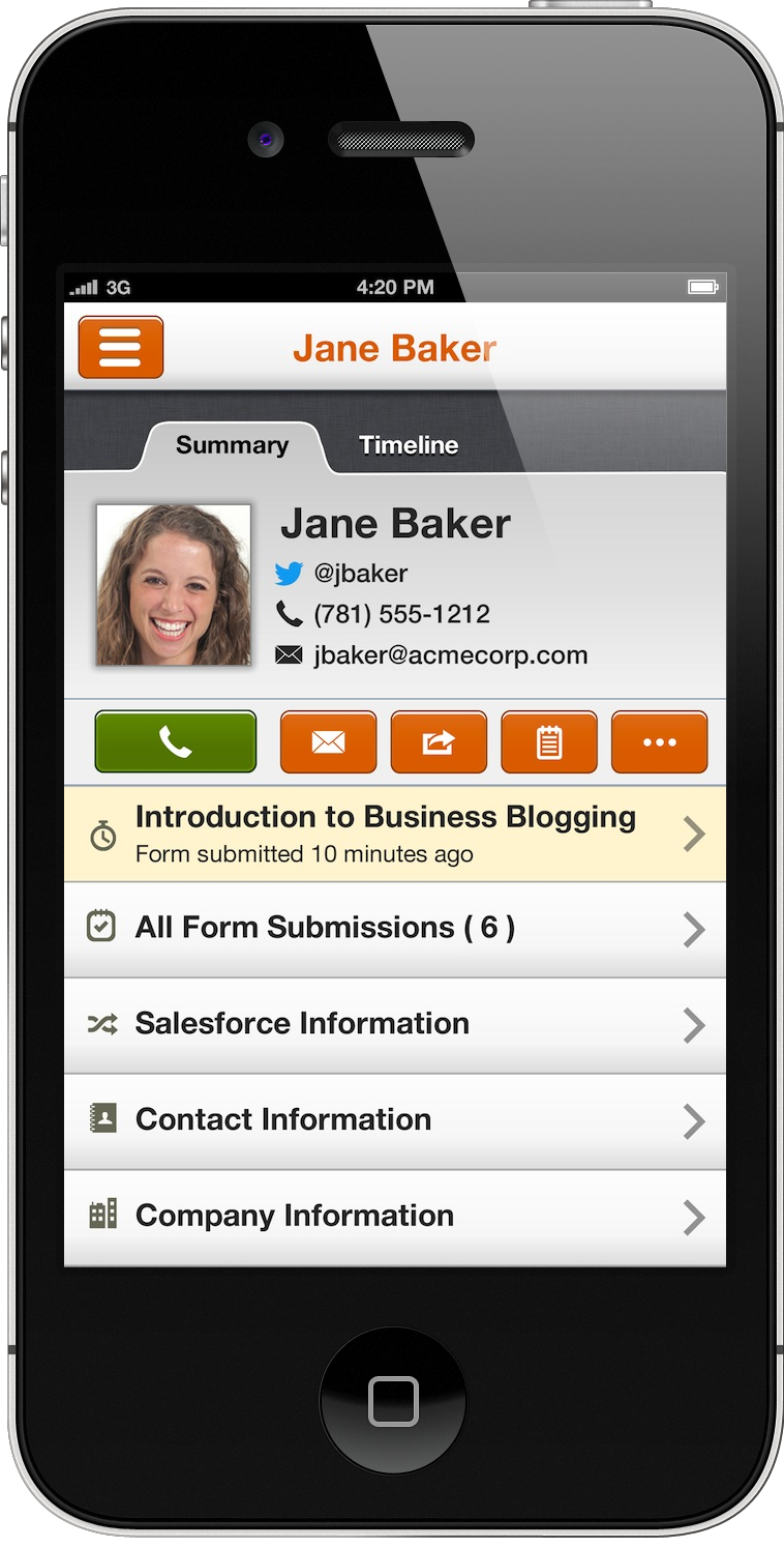 iphone app marketing announcing hubspot 3 the future of marketing software 1218